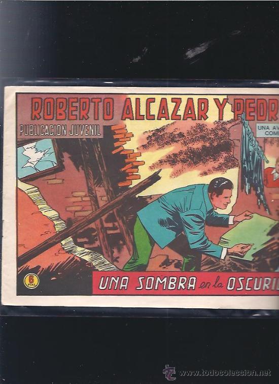ROBERTO ALCAZAR Y PEDRIN 1182 (Tebeos y Comics - Valenciana - Roberto Alcázar y Pedrín)