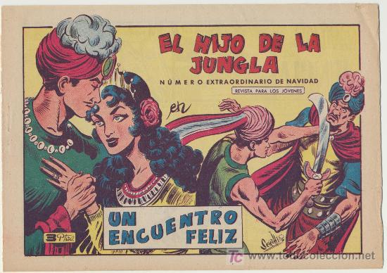 EL HIJO DE LA JUNGLA Nº 75. EXTRAORDINARIO DE NAVIDAD (1597) SIN ABRIR (Tebeos y Comics - Valenciana - Hijo de la Jungla)