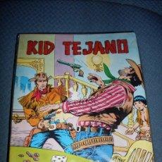 Tebeos: EDITORIAL LA VALENCIANA KID TEJANO COMPLETA EN MUY BUEN ESTADO COMO NUEVA. Lote 25813055