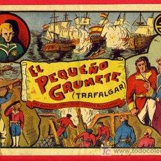 Tebeos: EL PEQUEÑO GRUMETE TRAFALGAR , SELECCION AVENTURERA, TIPOGRAFIA ARTISTICA , VALENCIA. Lote 26370784