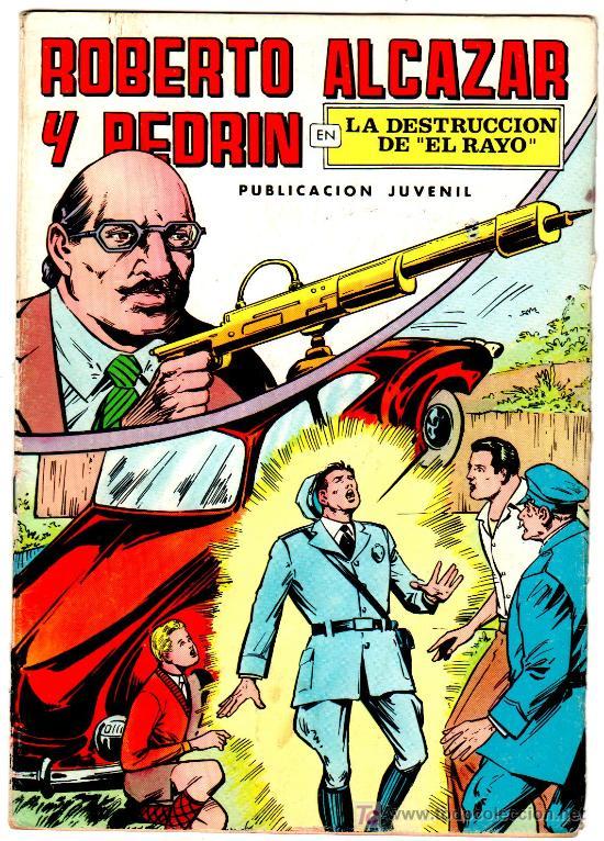 ROBERTO ALCAZAR Nº 6, SVINTUS EL HOMBRE DIABOLICO (Tebeos y Comics - Valenciana - Roberto Alcázar y Pedrín)