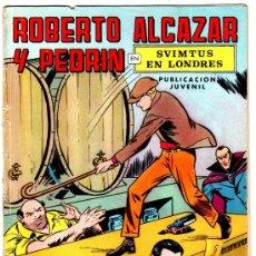 Tebeos: ROBERTO ALCAZAR Nº 7 SVINTUS EL HOMBRE DIABOLICO. Lote 15962091