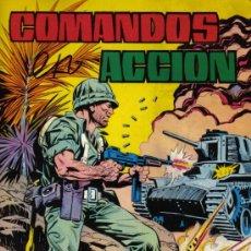BDs: COMANDOS EN ACCIÓN - TOMO Nº 6 (RETAPADO DE 4 NÚMEROS) - EDITORIAL VALENCIANA - AÑO 1982. Lote 18509076