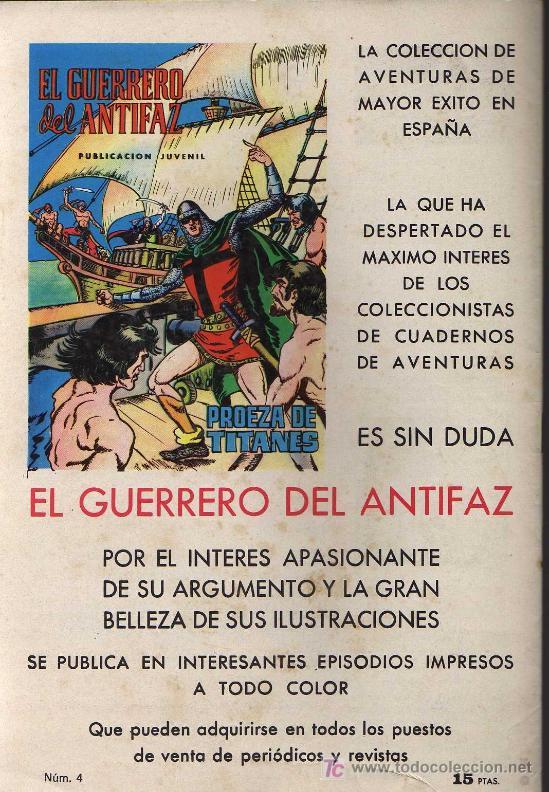 Tebeos: PURK, EL HOMBRE DE PIEDRA Nº4 - MANUEL GAGO - 1974 - EDIVAL - Foto 2 - 16129940