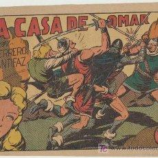 Livros de Banda Desenhada: EL GUERRERO DEL ANTIFAZ Nº 76. VALENCIANA 1943.. Lote 16129852