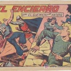 Tebeos: EL GUERRERO DEL ANTIFAZ Nº 140. VALENCIANA 1943.. Lote 27442264