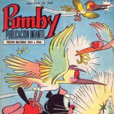 Tebeos: PUMBY. AÑO XVIII -Nº 749. Lote 16218216