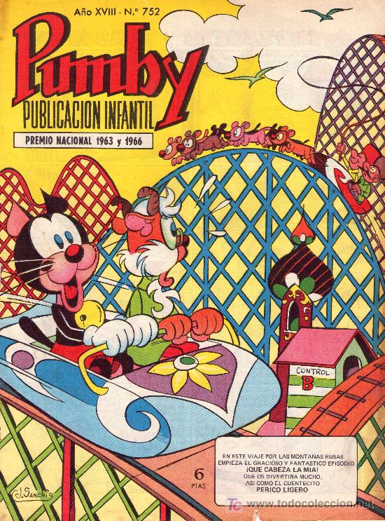 PUMBY. AÑO XVIII -Nº 752 (Tebeos y Comics - Valenciana - Pumby)