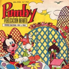 Tebeos: PUMBY. AÑO XVIII -Nº 752. Lote 16218456
