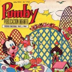 Tebeos: PUMBY. AÑO XVIII -Nº 752. Lote 16218588
