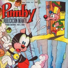 Tebeos: PUMBY. AÑO XVIII -Nº 789. Lote 16218634