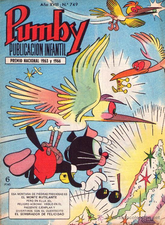 PUMBY. AÑO XVIII -Nº 749 (Tebeos y Comics - Valenciana - Pumby)