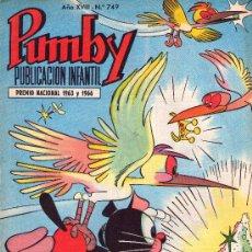 Tebeos: PUMBY. AÑO XVIII -Nº 749. Lote 16218732
