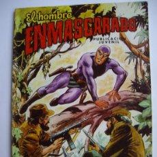 Tebeos: EL HOMBRE ENMASCARADO. Nº 43. COLOSOS DEL COMIC.EDITORIAL VALENCIANA.. Lote 27602238