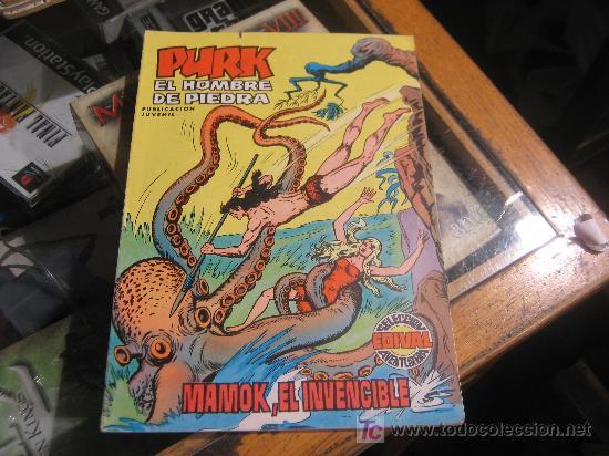 PURK EL HOMBRE DE PIEDRA Nº 4 (Tebeos y Comics - Valenciana - Purk, el Hombre de Piedra)