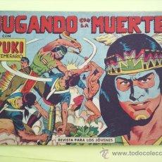 Tebeos: YUKI EL TEMERARIO N.7 , 1958 EDITORIAL VALENCIANA ORIGINAL. Lote 16622390