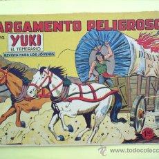 Tebeos: YUKI EL TEMERARIO N.27 . 1958 EDITORIAL VALENCIANA ORIGINAL. Lote 16622476