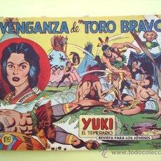 Tebeos: YUKI EL TEMERARIO N.19 - 1958 EDITORIAL VALENCIANA . - ORIGINAL. Lote 22417748