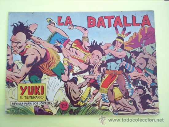 YUKI EL TEMERARIO N.33 - 1958 , EDITORIAL VALENCIANA - ORIGINAL (Tebeos y Comics - Valenciana - Otros)