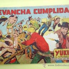 Tebeos: YUKI EL TEMERARIO N.42 - 1958 - ORIGINAL , EDITORIAL VALENCIANA. Lote 22887781