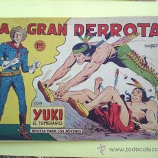 Tebeos: YUKI EL TEMERARIO N, 23 - 1958, ORIGINAL , EDITORIAL VALENCIANA. Lote 22866220