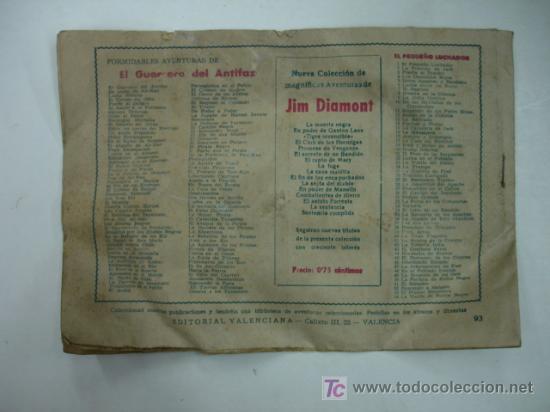 Tebeos: PRISIONEROS DE LOS KAN. CON EL GUERRERO DEL ANTIFAZ. (EDITORIAL VALENCIANA) - Foto 2 - 16825182