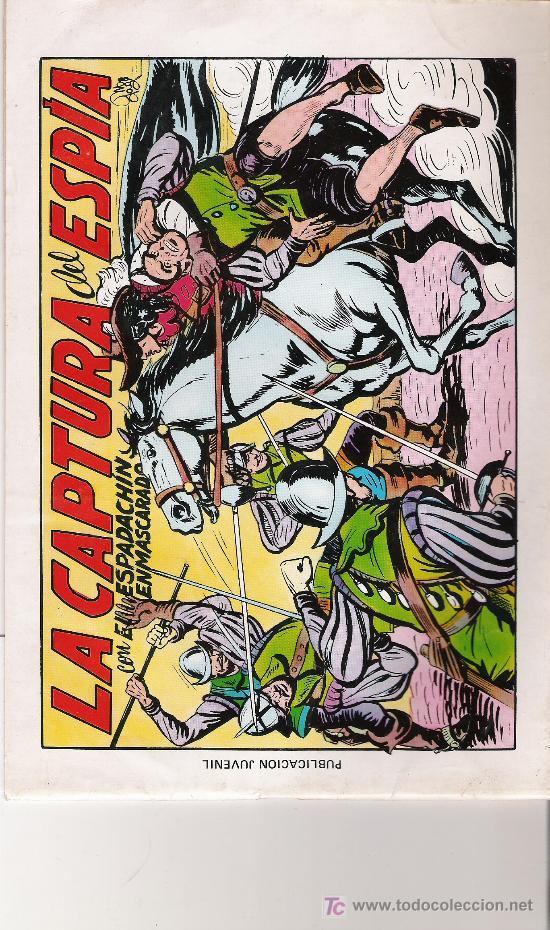 EL ESPADACHIN ENMASCARADO - 2ª EDICION Nº 11 - (Tebeos y Comics - Valenciana - Espadachín Enmascarado)