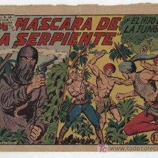 Tebeos: EL HIJO DE LA JUNGLA Nº 21.. Lote 17248918