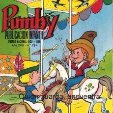 Tebeos: COMIC PUMBY Nº 784 NUEVO ORIGINAL DEL AÑO 1972-1973, EDITORIAL VALSA-J. SANCHÍS Y KARPA. Lote 26737906