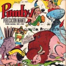 Tebeos: COMIC PUMBY Nº 797 NUEVO ORIGINAL DEL AÑO 1972-1973, EDITORIAL VALSA-J. SANCHÍS Y KARPA. Lote 26973082