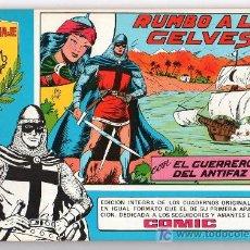 Tebeos: EL GUERRERO DEL ANTIFAZ Nº 19. EDITORA VALENCIANA. 1981. Lote 17636585