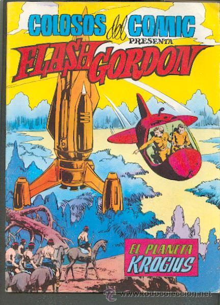 COLOSOS DEL COMIC PRESENTA FLASH GORDON Nº 11,EDITORIAL VALENCIANA (Tebeos y Comics - Valenciana - Colosos del Comic)