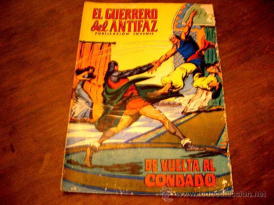EL GERRERO DEL ANTIFAZ .DE VUELTA AL CONDADO,Nª79 AÑO1973 (Tebeos y Comics - Valenciana - Guerrero del Antifaz)