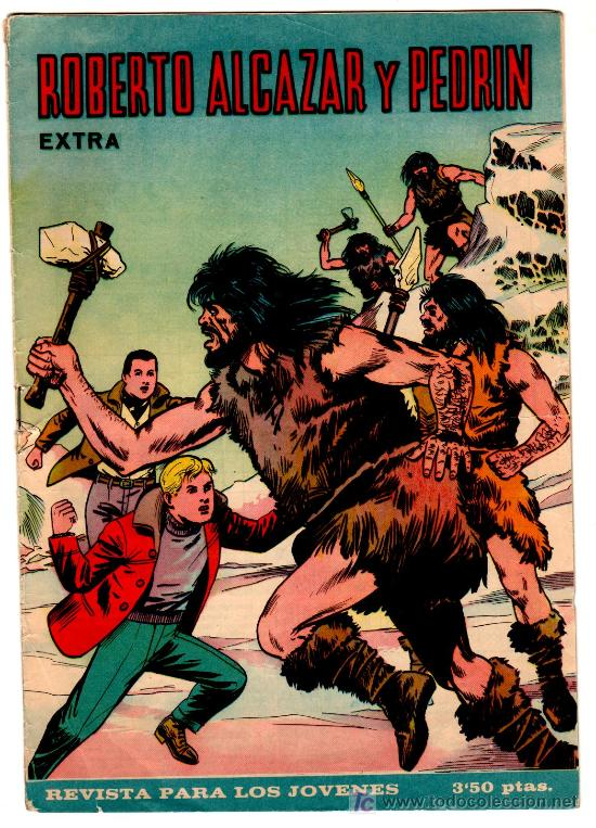 ROBERTO ALCAZAR EXTRA ORIGINAL 1966, 3,50 PTS, VER PAGINA (Tebeos y Comics - Valenciana - Roberto Alcázar y Pedrín)
