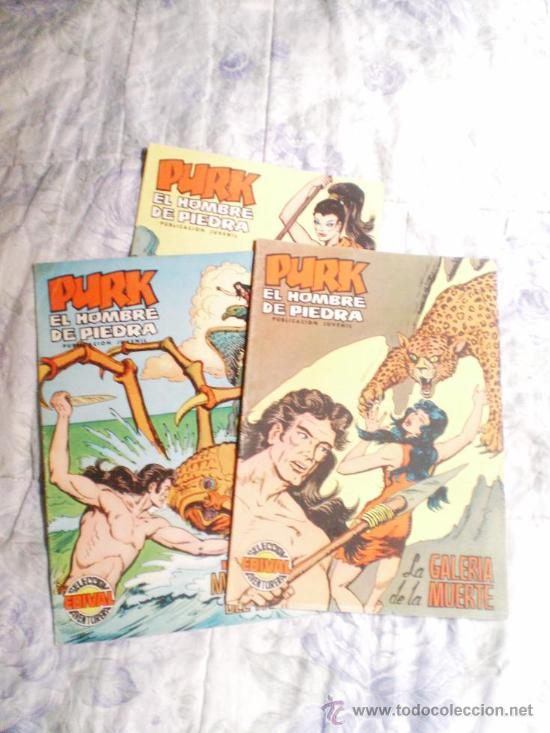 PURK EL HOMBRE DE PIEDRA NUMERO 8,.VALENCIANA COLOR. (Tebeos y Comics - Valenciana - Purk, el Hombre de Piedra)