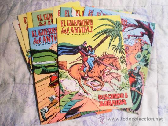 EL GUERRERO DEL ANTIFAZ DE VALENCIANA A COLOR NUMERO 64.IMPECABLE. (Tebeos y Comics - Valenciana - Guerrero del Antifaz)