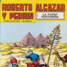 Tebeos: ROBERTO ALCAZAR Y PEDRIN Nº 140. LA TUMBA MISTERIOSA. EDITORIAL VALENCIANA COLOR.. Lote 27567821