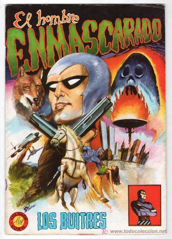 COLOSOS DEL COMIC Nº 1. EDITORA VALENCIANA. EL HOMBRE ENMASCARADO. LOS BUITRES (Tebeos y Comics - Valenciana - Colosos del Comic)