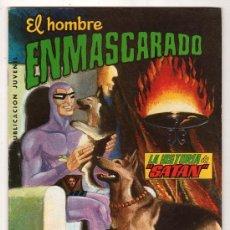 Tebeos: COLOSOS DEL COMIC Nº 18. EDITORA VALENCIANA. EL HOMBRE ENMASCARADO. LA HISTORIA DE SATAN. Lote 18143065