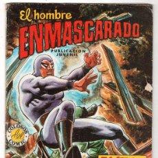 Tebeos: COLOSOS DEL COMIC Nº 52. EDITORA VALENCIANA. EL HOMBRE ENMASCARADO. EL SECRETO DE LA PIEDRA PLANA. Lote 18143145