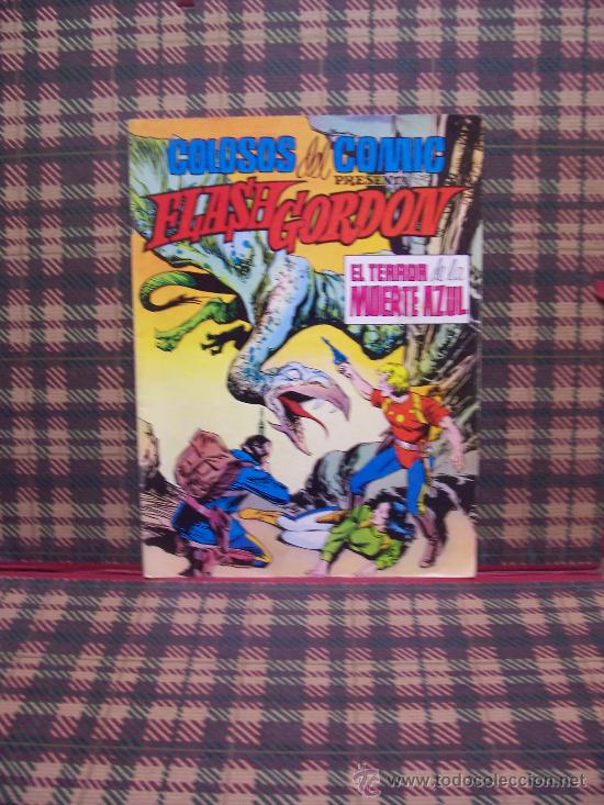 FLASH GORDON - Nº 6 - EDITORIAL VALENCIANA - 1980 - COLOSOS DEL COMIC (Tebeos y Comics - Valenciana - Colosos del Comic)
