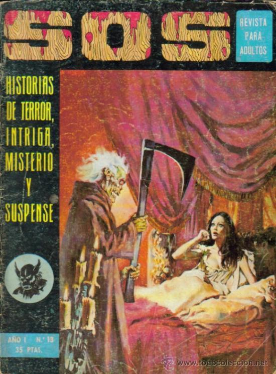 SOS ( EDIVAL ) ORIGINAL 1975 - 1976 LOTE (Tebeos y Comics - Valenciana - S.O.S)