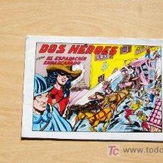 Tebeos: EL ESPADACHIN ENMASCARADO-DOS HEROES-Nº 53-1982-ED VALENCIANA. Lote 18253556