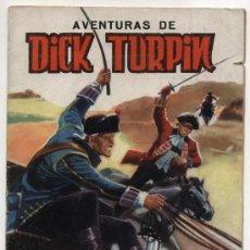 Tebeos: AVENTURAS DE DICK TURPIN. SELECCIÓN DE AVENTURAS ILUSTRADAS. VALENCIANA. Lote 18689364