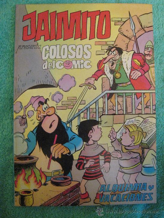 Tebeos: EXTRAORDINARIO DE JAIMITO(JAIMITO PRESENTA COLOSOS DEL COMIC) 1-2-3-4-5(COMPLETA?).VALENCIANA 1975 - Foto 3 - 18811308