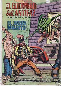 CÓMIC EL GUERRERO DEL ANTIFAZ Nº 126 ED. VALENCIANA.15 PTS. (Tebeos y Comics - Valenciana - Guerrero del Antifaz)