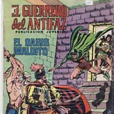 BDs: CÓMIC EL GUERRERO DEL ANTIFAZ Nº 126 ED. VALENCIANA.15 PTS.. Lote 27594827