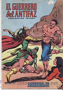 CÓMIC EL GUERRERO DEL ANTIFAZ Nº 116 ED. VALENCIANA.15 PTS. (Tebeos y Comics - Valenciana - Guerrero del Antifaz)
