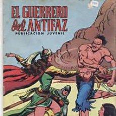 Tebeos: CÓMIC EL GUERRERO DEL ANTIFAZ Nº 116 ED. VALENCIANA.15 PTS.. Lote 27594830