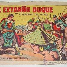Tebeos: EL EXTRAÑO DUQUE CON EL GUERREDO DEL ANTIFAZ - Nº 455 - ED. VALENCIANA - AÑO 1962 - RARISIMO.. Lote 19008890
